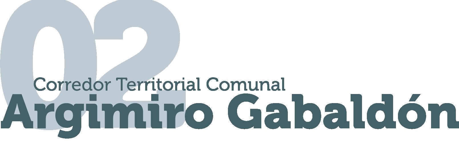 Corredor Territorial Comunal Argimiro Gabaldón